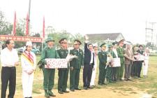 Lễ giao nhận quân năm 2018