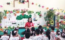 Hội thi giáo viên dạy giỏi cấp tỉnh bậc học Mầm non ở Nghĩa Đàn