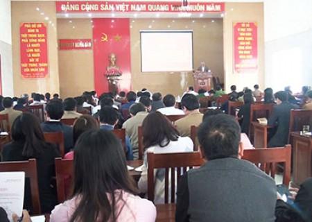 Nghĩa Đàn quán triệt chuyên đề học tập tư tưởng, đạo đức, phong cách Hồ Chí Minh năm 2018