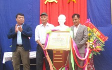 Xóm Hều 2 xã Nghĩa Liên đón nhận làng văn hóa cấp huyện giai đoạn 2016 - 2017
