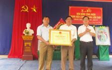 Xóm Tháp ( Nghĩa Liên ) đón nhận danh hiệu Làng văn hóa giai đoạn 2016 - 2017