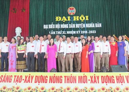 Đồng chí Phan Thế Phương tái đắc cử chủ tịch hội Nông dân Nghĩa Đàn nhiệm kỳ 2018 - 2023