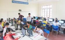40 thí sinh tham gia Hội thi Tin học trẻ cấp huyện lần thứ 4 năm 2018