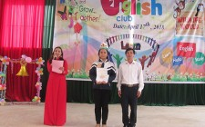 Em Mạnh Thị Huyền Trâm, trường THCS Nghĩa Trung đạt giải nhất giao lưu CLB tiếng Anh