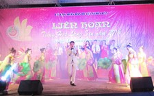 Thi trấn Nghĩa Đàn giành giải nhất Liên hoan tiếng hát Làng Sen cụm 1