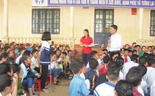 Hơn 1200 học sinh được tư vấn sức khỏe sinh sản cho vị thành niên/thanh niên