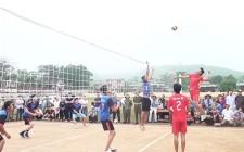 Nghĩa Phú khai mạc giải bóng chuyền công – nông – binh năm 2018