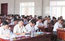 Hội nghị Ban Chấp hành Đảng bộ Nghĩa Đàn mở rộng góp ý về đề án tinh giản biên chế