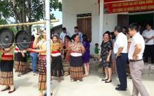 Huyện Ba Tơ  ( Quảng Ngãi ) tham quan mô hình xây dựng xã NTM tại Nghĩa Liên