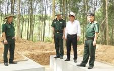 Chủ tịch UBND huyện kiểm tra công tác chuẩn bị diễn tập khu vực phòng thủ huyện