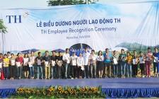 Công ty CPTP sữa TH suy tôn hơn 330 lao động xuất sắc, lao động giỏi