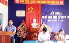 Tổ đại biểu số 4 HĐND huyện tiếp xúc với cử tri tại xã Nghĩa Liên và Nghĩa Tân.