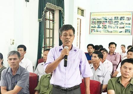 Đại biểu HĐND tỉnh tiếp xúc cử tri Nghĩa Lộc