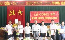 Nghĩa Đàn bổ nhiệm Trưởng ban Tuyên giáo đồng thời là Giám đốc Trung tâm Bồi dưỡng chính trị huyện
