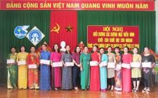 Thị trấn Nghĩa Đàn  biểu dương 14 gia đình tiêu biểu thực hiện chính sách dân số