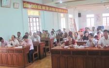 Ngân hàng CSXH huyện Nghĩa Đàn tập huấn nghiệp vụ công tác tín dụng tại Nghĩa Liên, Nghĩa Tân