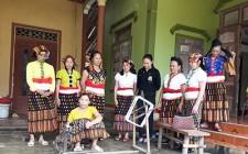 Khai giảng lớp nghề thêu, dệt thổ cẩm ở Nghĩa Lạc