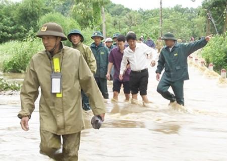Nghĩa Đàn ước tính thiệt hại do bão số 4 khoảng 7,5 tỷ đồng