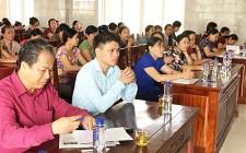 Tập huấn nghiệp vụ công tác Hội phụ nữ và và triển khai đề án 938, 939 của Chính phủ