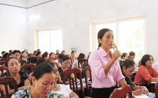Bàn giải pháp nâng cao chất lượng giáo dục