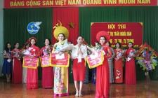 Thí sinh Nguyễn Thị Dung giành giải nhất hội thi duyên dáng - tự tin -  tự trọng