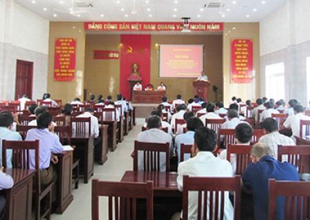 Hội nghị ban chấp hành Đảng bộ Nghĩa Đàn mở rộng