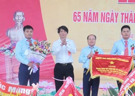 Nghĩa Lạc  kỷ niệm 65 năm ngày thành lập xã