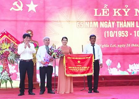 Nghĩa Lợi kỷ niệm 65 năm thành lập xã