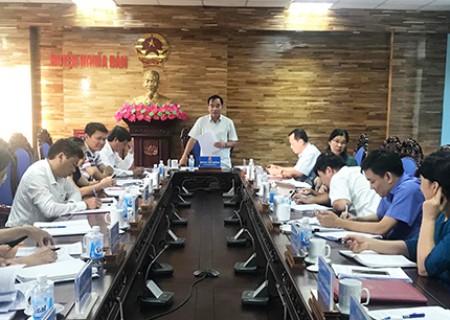 Đoàn giám sát của HĐND tỉnh làm việc với UBND huyện Nghĩa Đàn