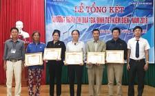 Tổng kết chương trình thi đua gia đình tiết kiệm điện năm 2018