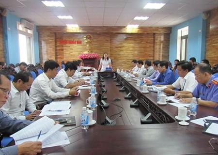 Hội nghị liên tịch chuẩn bị kỳ họp thứ 7 HĐND huyện Nghĩa Đàn