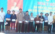 Phó Chủ tịch HĐND tỉnh dự Ngày hội ĐĐK tại xã Nghĩa Thọ