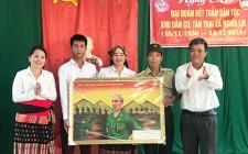 Xóm Tân Thai ( Nghĩa Lợi ) tổ chức ngày hội đại đoàn kết toàn dân tộc