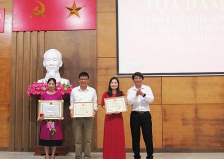 Tọa đàm, gặp mặt nhân kỷ niệm 36 năm ngày Nhà giáo Việt Nam
