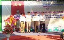 Xóm Nam Lâm ( Nghĩa Lâm ) đón nhận quyết định xóm đạt NTM năm 2017