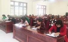 Hội thi giáo viên dạy giỏi giáo dục mầm non cấp huyện năm học 2018 - 2019