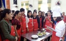 125 hội viên phụ nữ tham gia chương trình nấu ăn cùng AJINOMOTO