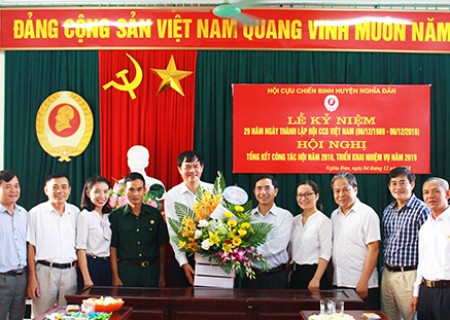 Chúc mừng ngày thành lập Hội Cựu chiến binh