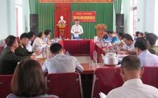 Thẩm tra Nông thôn mới tại xã Nghĩa Thắng