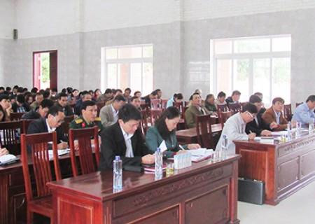 Quán triệt Nghị Quyết hội nghị lần thứ 8 ban chấp hành Trung ương Đảng cho cán bộ chủ chốt