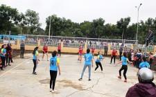 Nghĩa Trung sôi nổi giải bóng chuyền chào mừng 65 năm thành lập xã