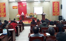 UBND huyện làm việc với thị trấn Nghĩa Đàn