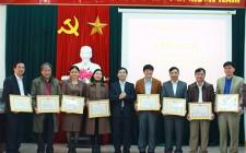 Đảng ủy Cơ quan Huyện ủy tổng kết công tác xây dựng Đảng