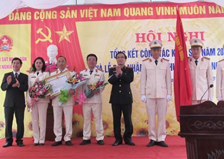 Viện Kiểm sát nhân dân huyện Nghĩa Đàn đón nhận Huân chương Lao động hạng III