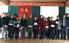 Sở Văn hóa và Thể thao Nghệ An tặng quà Tết cho người nghèo tại Nghĩa Đàn