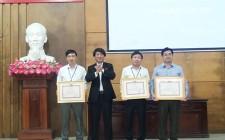 Đảng ủy cơ quan UBND huyện năm thứ 10 liên tiếp được xếp loại trong sạch vững mạnh tiêu biểu