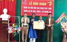 Lễ đón nhận danh hiệu Dòng họ văn hóa Võ Văn