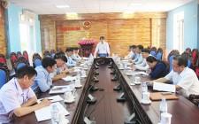 UBND huyện Nghĩa Đàn làm việc với UB MTTQ và các tổ chức chính trị xã hội