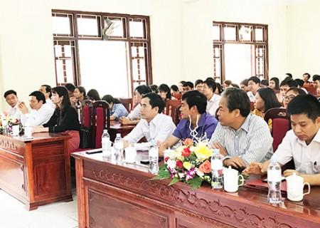 Khai giảng lớp trung cấp lý luận chính trị - hành chính khóa 14