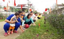 Phụ nữ Nghĩa Đàn xây dựng môi trường xanh sạch đẹp ở nông thôn